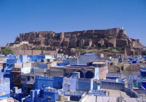 מבצר Mehrangarh בג'ודפור