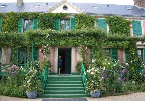 ג'יברני - ביקור בית אצל קלוד מונה - Monet's house in Giverny