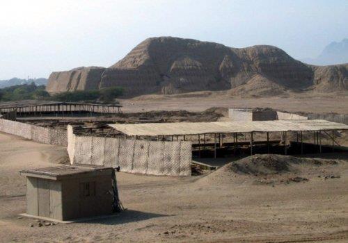 מקדש השמש, פרו (Huacas del sol y de la luna)