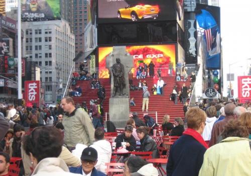 טיימס סקוור, מנהטן, ניו-יורק - Times Square