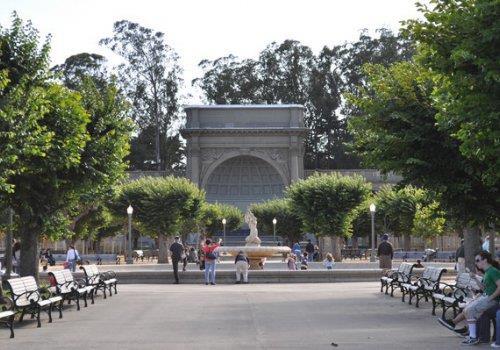 "פארק ""שער הזהב"", סן פרנסיסקו (ארצות הברית)- The Golden Gate Park"