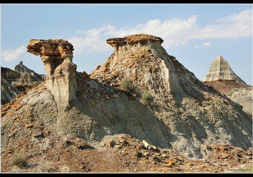 פארק הדינוזאורים הפרובינציאלי, קנדה