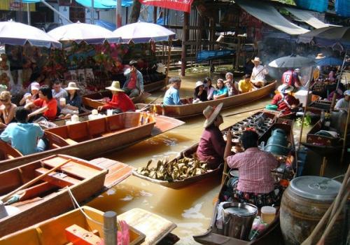 השוק הצף, תאילנד