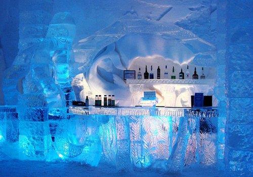 בר קרח, קו-סמוי