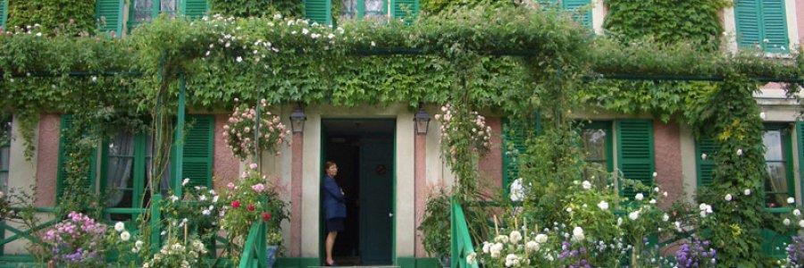 ג'יברני – ביקור בית אצל קלוד מונה – Monet's house in Giverny
