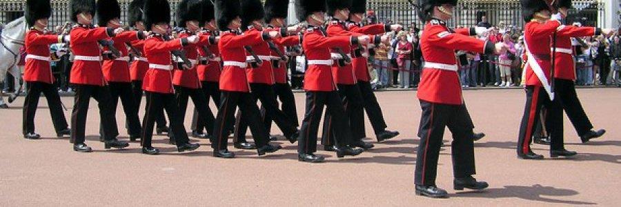 חילופי המשמרות בארמון באקינגהאם