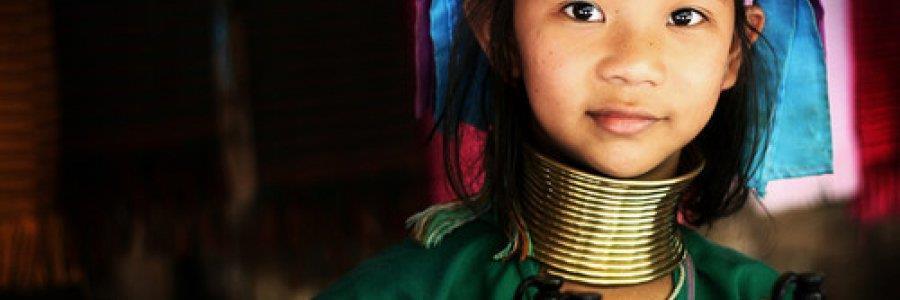 """כפר """"נאי סוי"""" ושבט ארוכות הצוואר"""